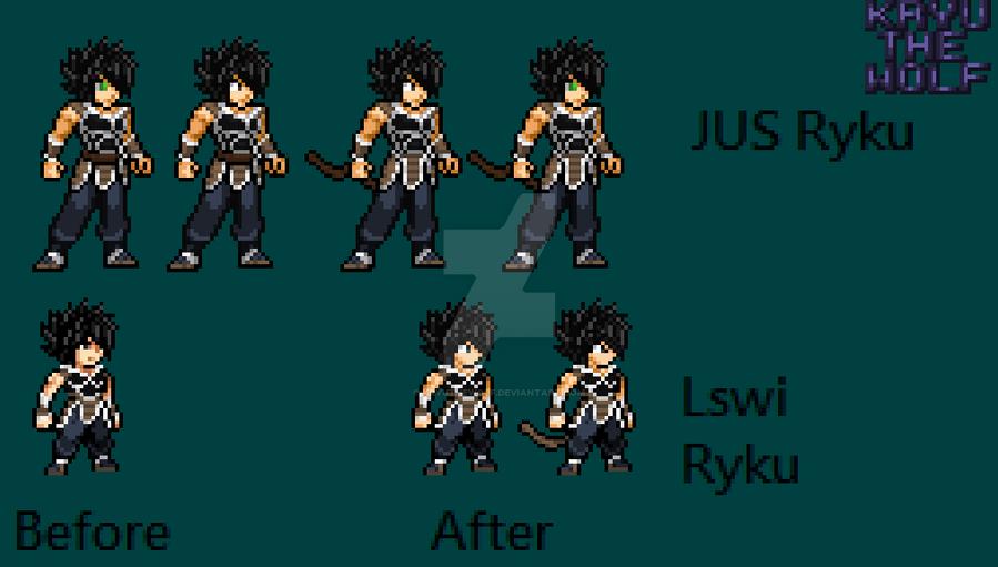 Ryku updates by KryuTheWolf