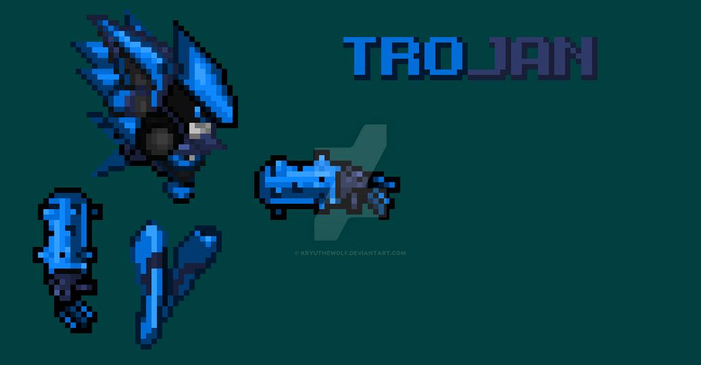Trojan brother of Malware by KryuTheWolf