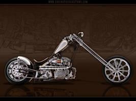 Whiskey Chopper Motorcycle by random667