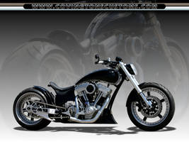 All Business Custom Motorcycle by random667