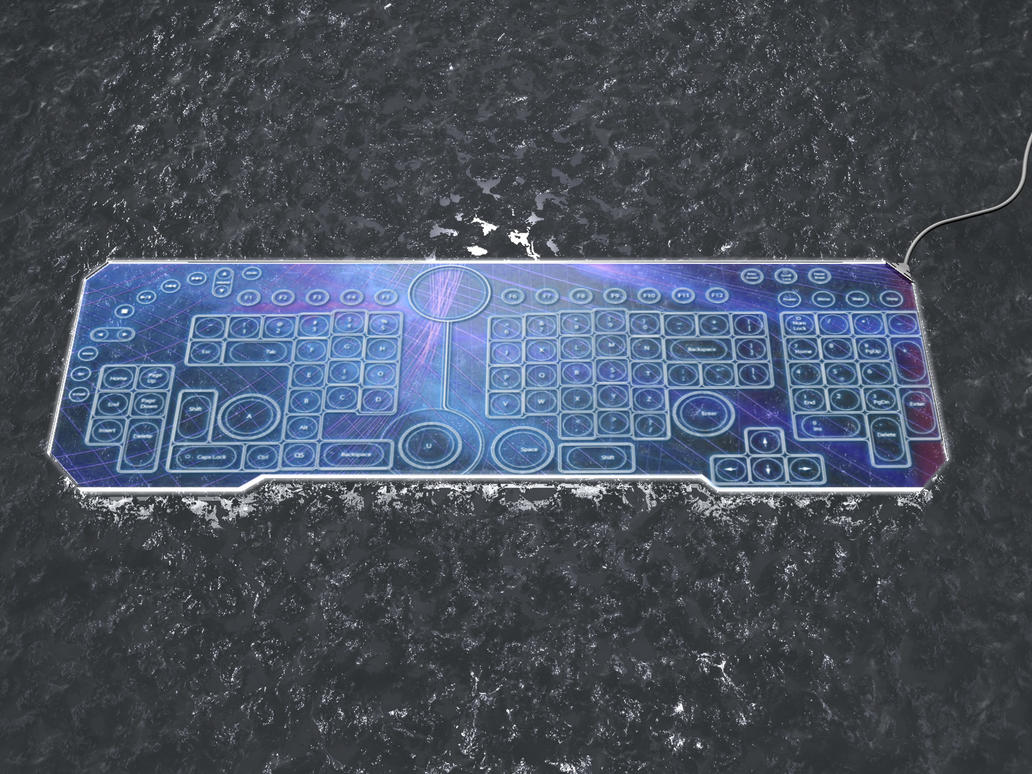 Star Wars Keyboard With LCD Touchpad Review » The Gadget Flow