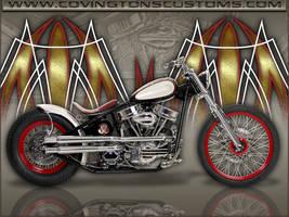 Custom Bobber Motorcycle by random667