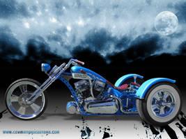 Outlaw Custom Trike by random667
