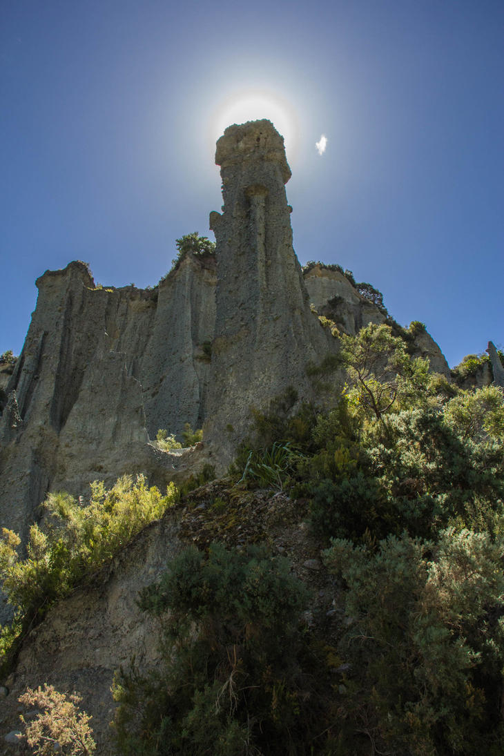Putangirua Pinnacles 1 by UberPickleMonkey