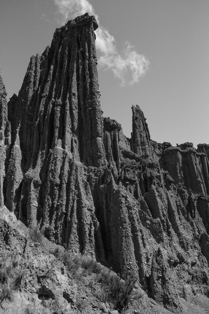 Putangirua Pinnacles 2 by UberPickleMonkey