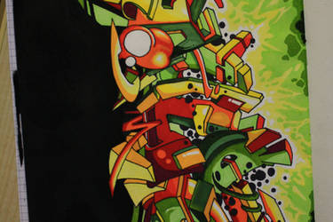 dulce - Graffiti by wnB91