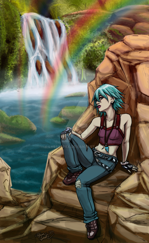 Double Rainbow by lyssaspex