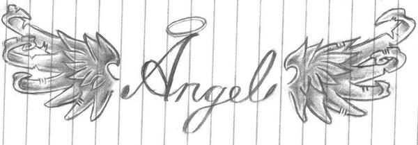 Angel Tattoo by Disturbed-Desi