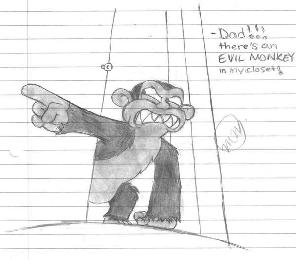 disturbed guy. Family Guy#39;s Evil Monkey by