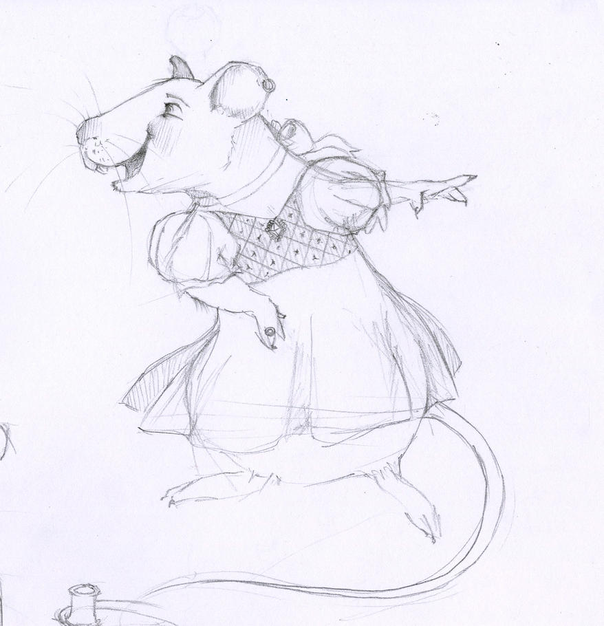 Lady Mouse by Runalicious