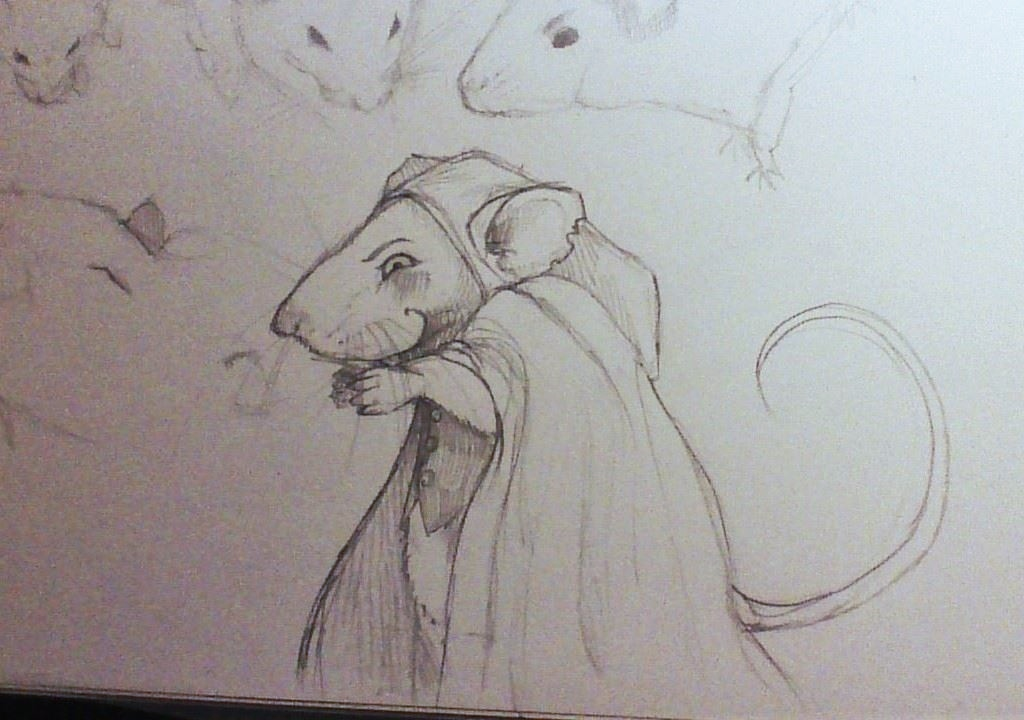 Scheming Rat by Runalicious