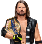 AJ Styles United States Champion Edited Render