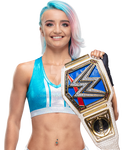 Xia Brookside SmackDown Women's Champion Render