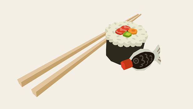 Sushi 3D by AnnekaTran