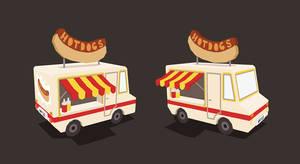 Hotdogs by AnnekaTran