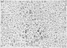 Scribbles by AnnekaTran