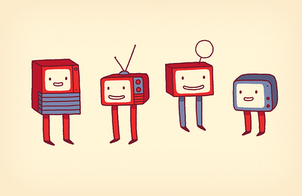 Happy TVs by enkana