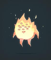Flame by AnnekaTran
