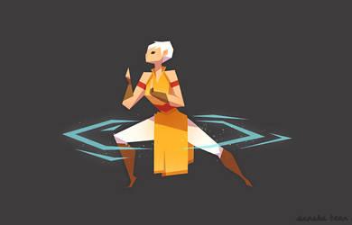 Monk by AnnekaTran