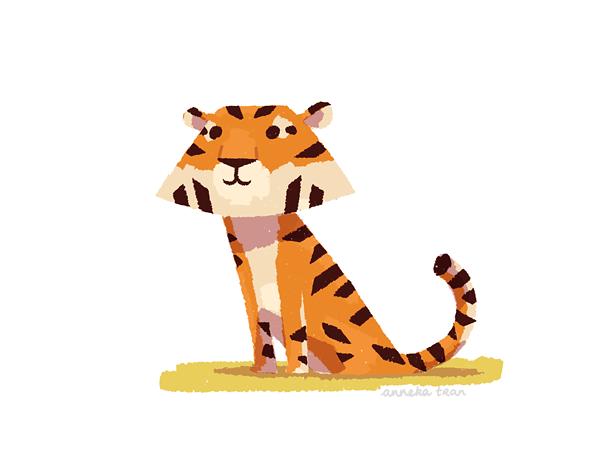 Little Tiger by enkana