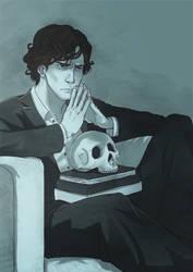 Deep Thinking Sherlock by kingLoL