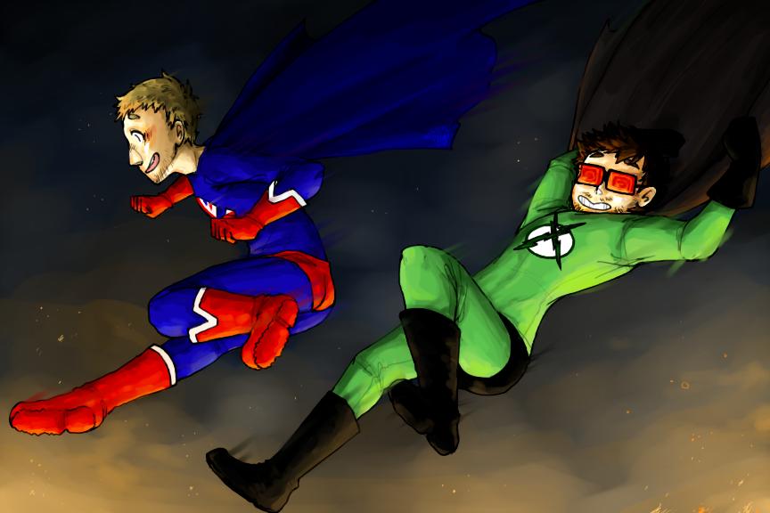 Ray And Vav Drawing Xray and vav  superheroes by reishi98Xray And Vav Drawing