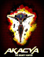 Akacya: The Bounty Hunter Page Promo cover 2 by Shinkalork