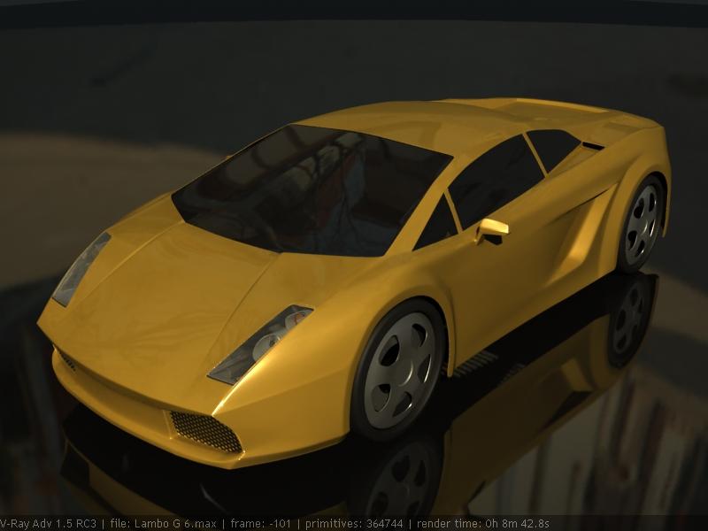 Lamborghini Gallardo WIP6 by Affet-kak