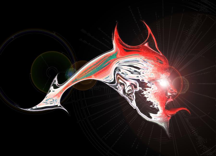 Red devil fish by gorilla ink on deviantart for Red devil fish for sale