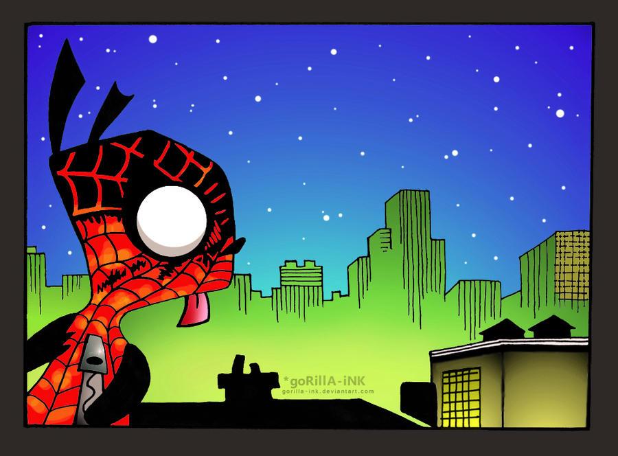 SPIDER-Gir by goRillA-iNK