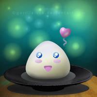 Rice Balls Love Too by goRillA-iNK