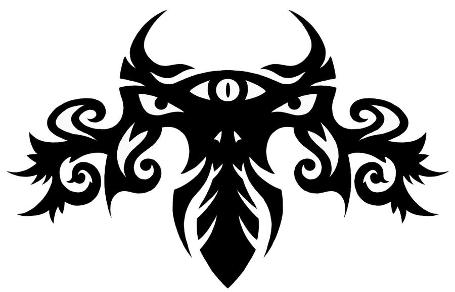 tribal dragon knight tattoo by gorilla ink on deviantart. Black Bedroom Furniture Sets. Home Design Ideas