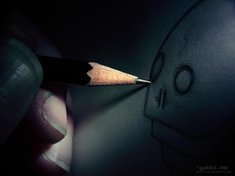 Psychosis... by goRillA-iNK
