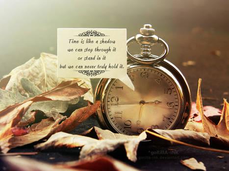 Time Is Like A Shadow...