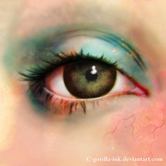 The Pastel Lady's Eye by goRillA-iNK