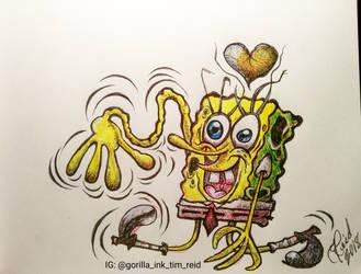 Weebly Wobbly SpongeBob SquarePants Doodle