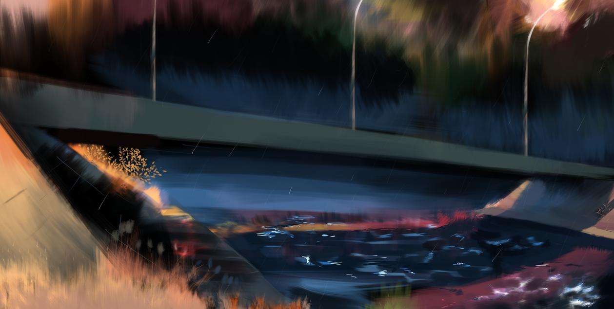 under the bridge by natarelki