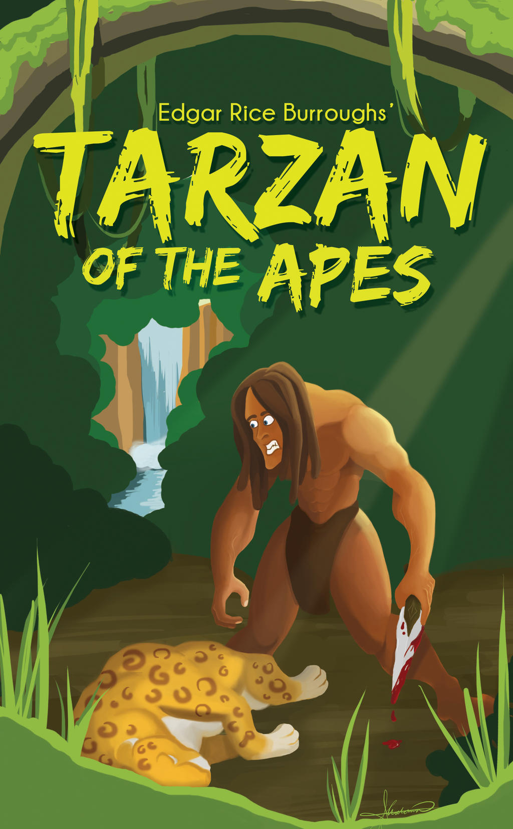 Tarzan of The Apes Book Tarzan of The Apes Book