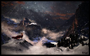 Snowfall by oddmountain