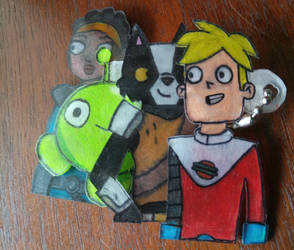 Final Space Keychain by CoolSkeleton03