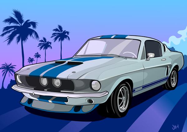 Grand theft auto Shelby cobra by jimjaz