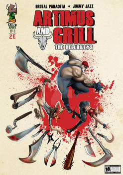 Artimus and Grill comic cover chapter 1