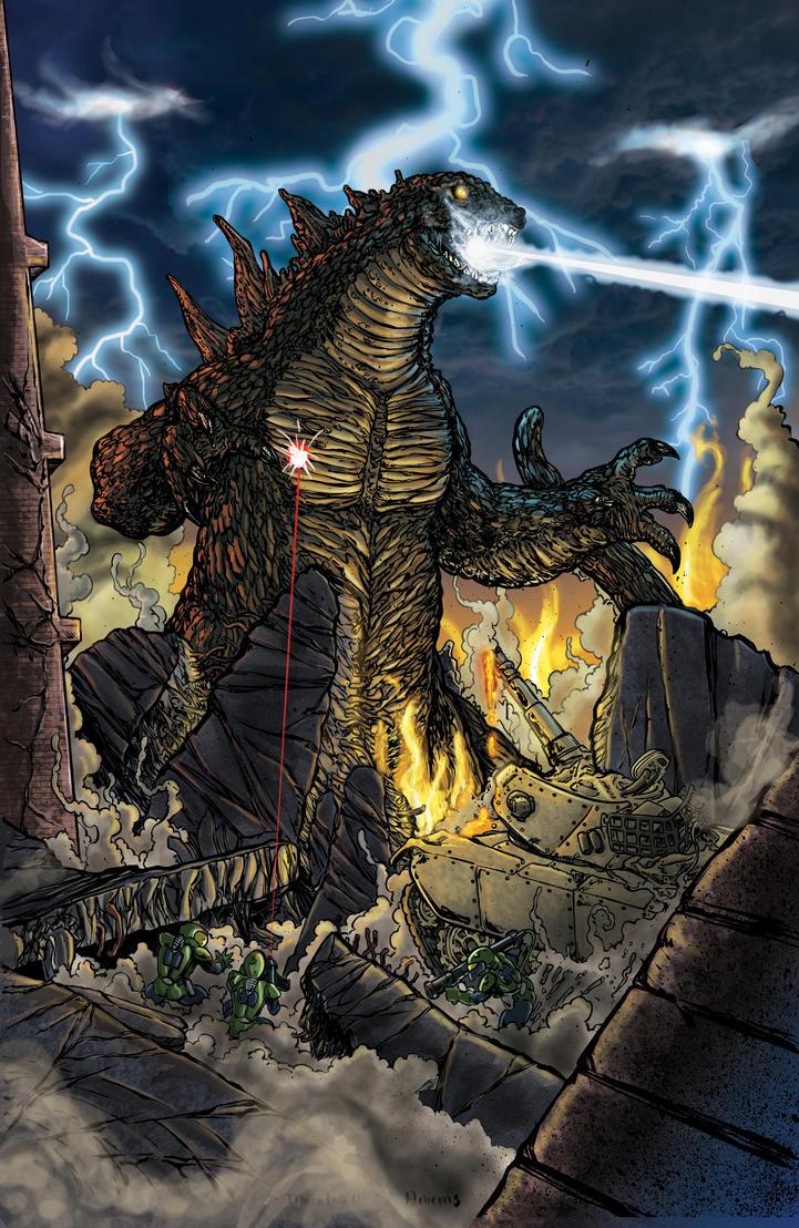 Godzilla by tas1138
