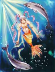mermaid by kaskachan