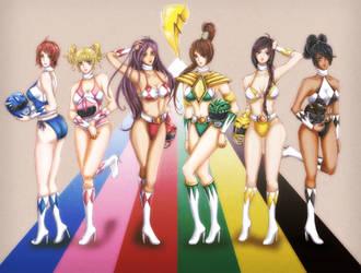Power Rangers by kaskachan