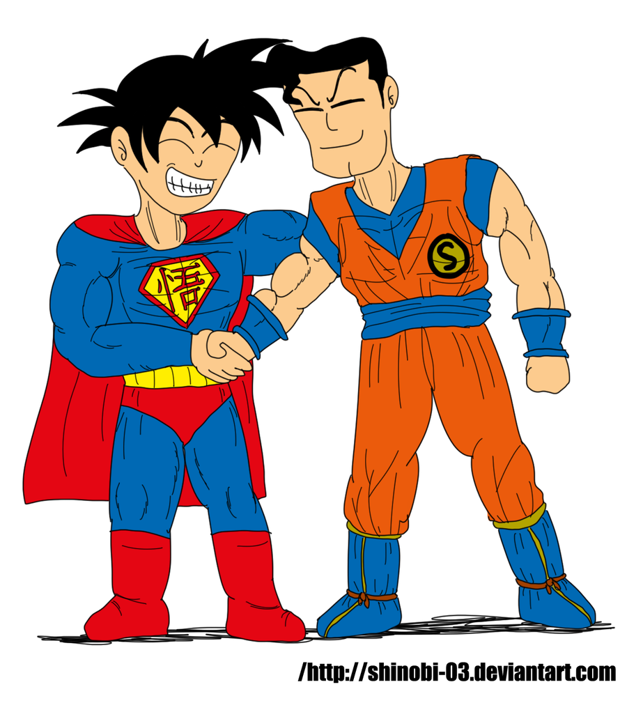 Superman and Goku: Heroes and Friends forever by SHINOBI-03 on DeviantArt