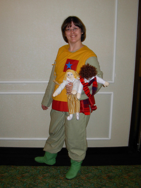 Adric Cosplay Finished by AddieFanclub