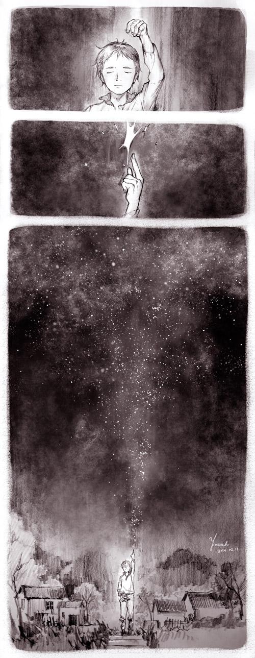 The eternally starry skies by yoeah