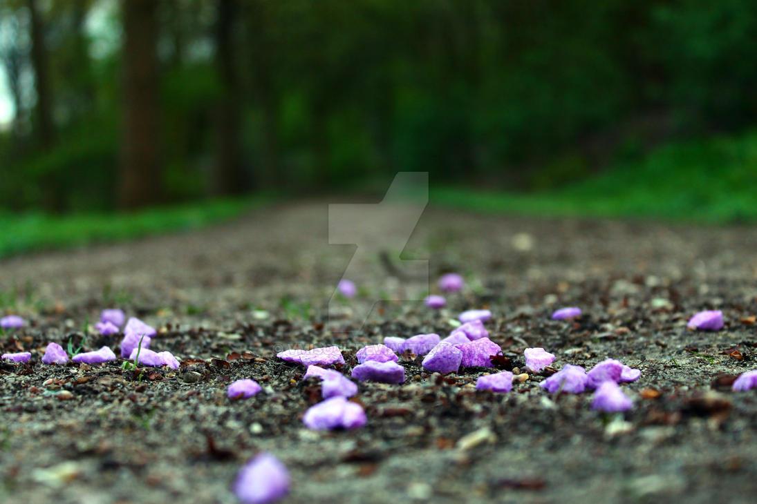 Purple stones by VMISoul