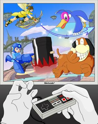 Smash Bros for NES by masterbx